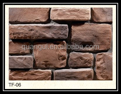 Light weight high quality environmental exterior decorative stone wall