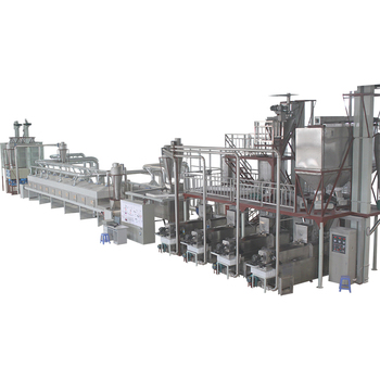 Mill pellet production line automatic fish food processing machine for sale