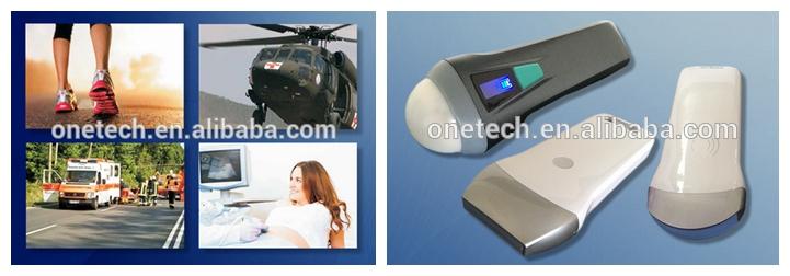 Hot sale 3.5Mhz/7.5Mhz/14Mhz Latest Windows Android&Ipad ultrasound scanner / Mini ultrasound device /Wireless ultrasound probe