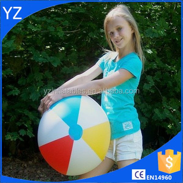 Inflatable girls beach ball