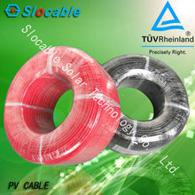 High Quality hot sale TUV approved Solar DC cable 4mm2 for photovoltaic systems