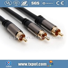 0.5M Metal shell interconnect audio cable vga rca high quality