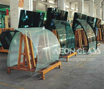 3mm-19mm BENT TEMPERED GLASS with 3C/CE/ISO certificate