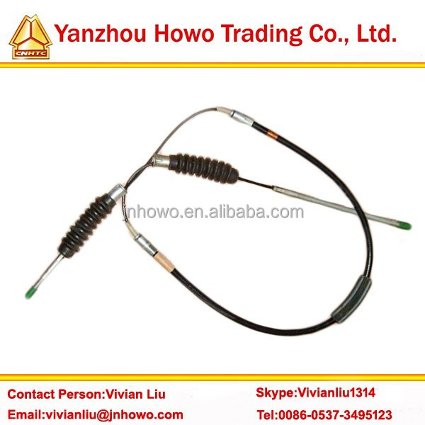 Original SINOTRUK heavy truck part clutch cable WG9100230018