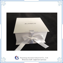 Customized cardboard book shape gift folding magnetic flap box can be customize