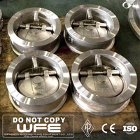 API 6D WFE npt bw Forged Steel Flange Lifting Spring Non gas check valve