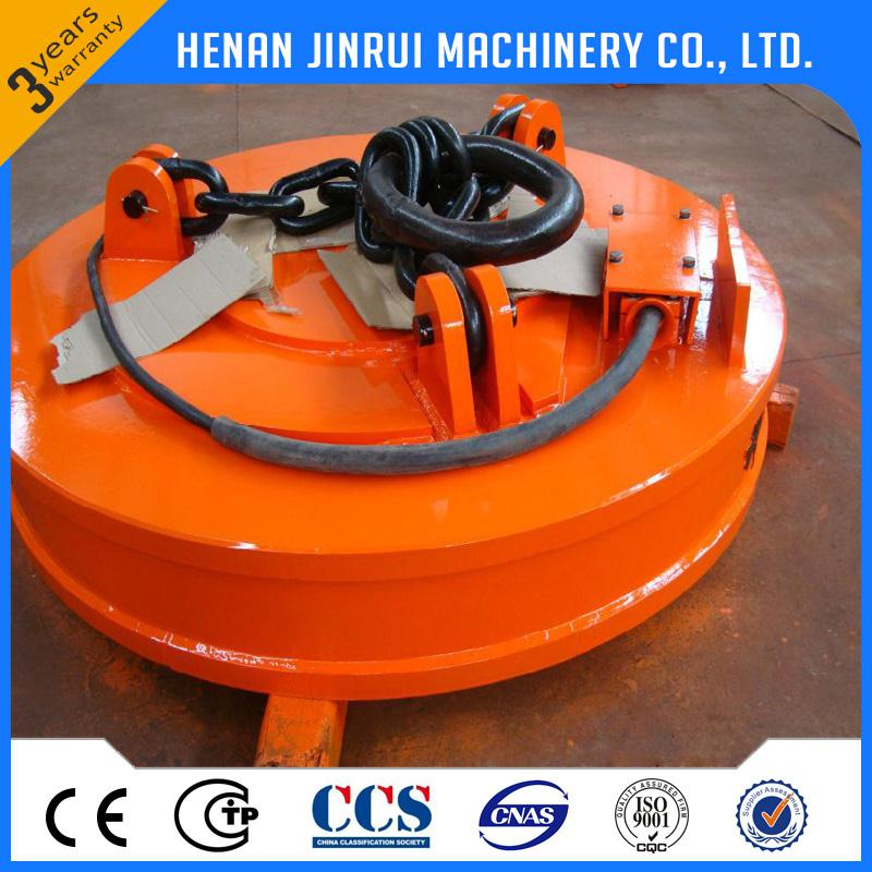 Mw5 Standard Series Circular Crane Lifting Magnet For Handling Steel Plates
