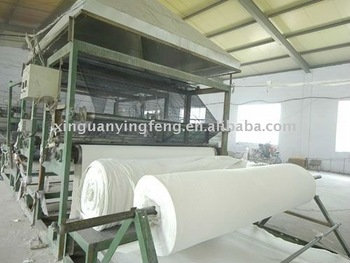 Geotextile laminating machine
