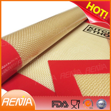RENJIA 4pcs silicone baking sheets color fiberglass mat 100% food grade silicone sheets
