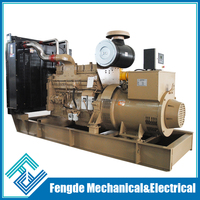 CE quality AC type 50hz 380v 3 phase 400kva power generator