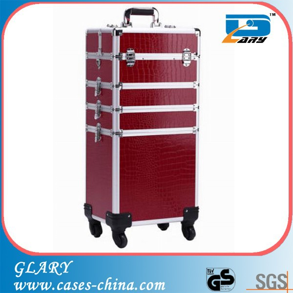 Wholesale factory direct sales fashionable nail polish trolley case