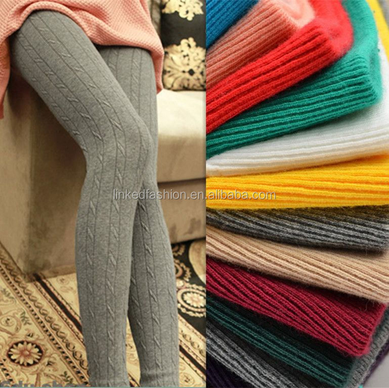Hot wool leg warmers leggings tight pants