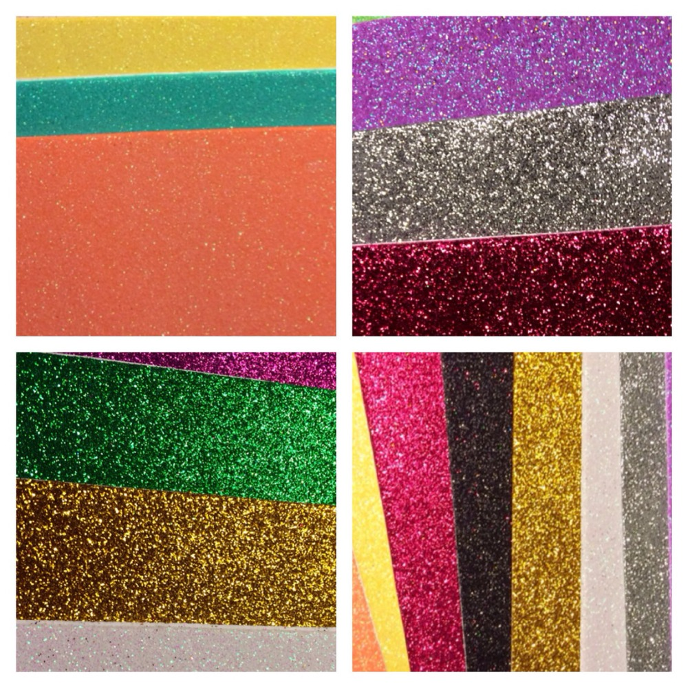 High quality eva glitter foam sheet