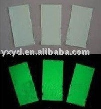 photoluminescent board/glow in the dark PVC sheet/photoluminescent PVC rigid sheet