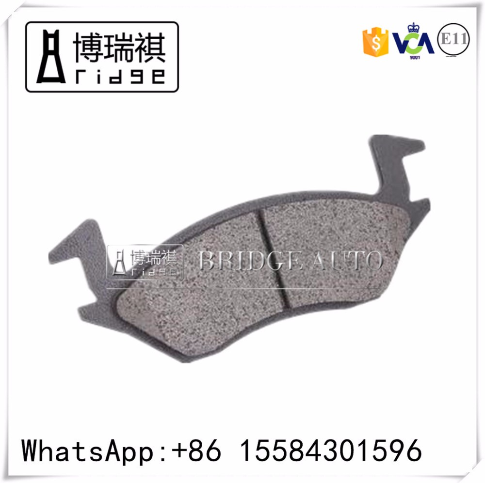 Disc brake pad car factory for SEAT 1J0698151J