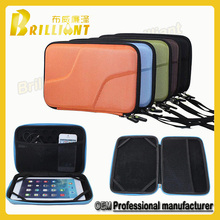 Zipper color eva waterproof case cover for laptop with handle