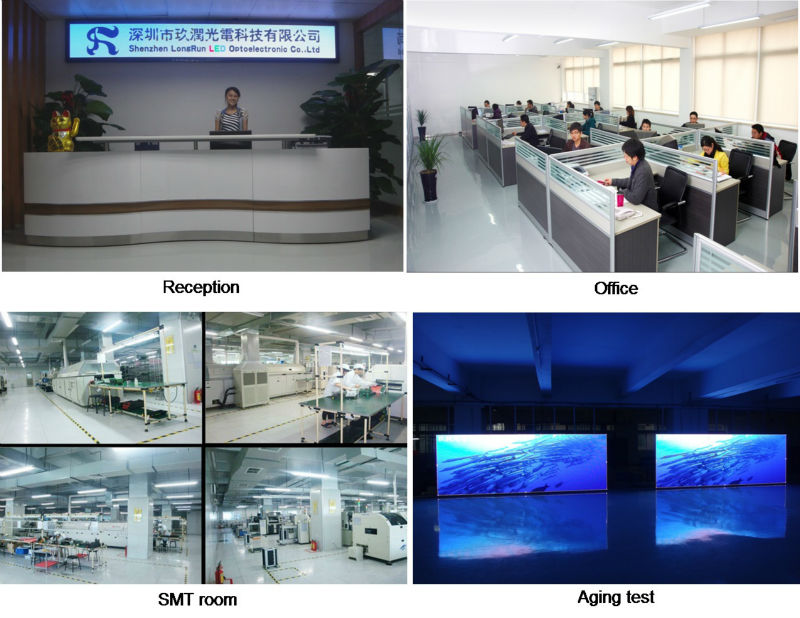 Indoor HD Full Color SMD Led Module Display P10 RGB 16x32 Led Panel