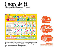 E1002 wholesales top quality magnetic learning behavior chart for student and teacher at school