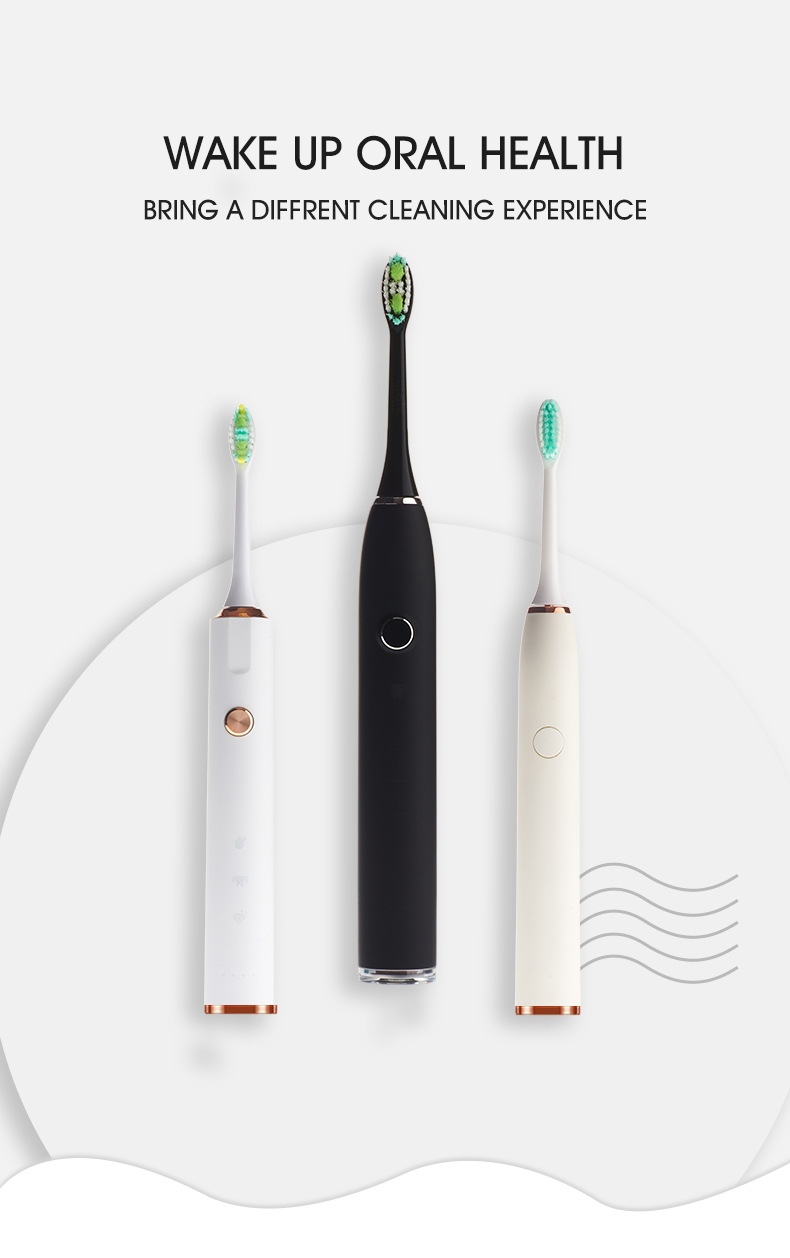 2019 Shenzhen Factory Rotating Rechargeable Personalized Electric Toothbrush