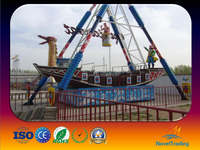 2016 hot selling amusement park outdoor games swing pirate ship for sale
