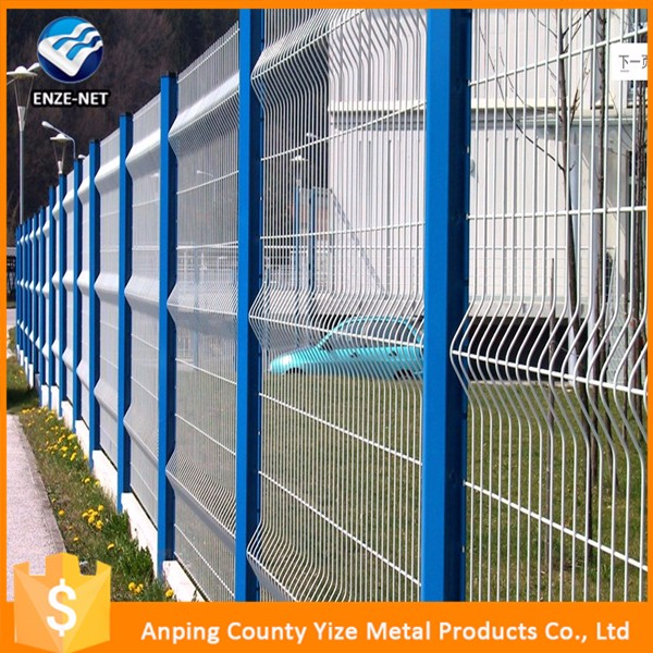 Direct Factory Wire mesh fence.High quality powder coated panel fence.Welded Garden Fence Panel (High Quality)