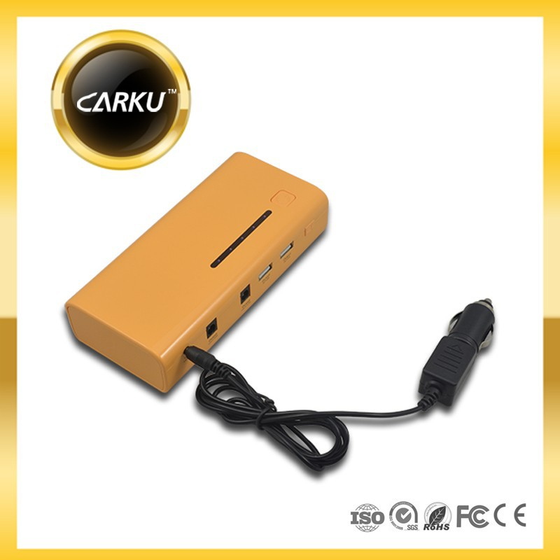 Carku Epower-37 15000mah mini car jump starter power bank 12V gasoline and diesel car emergency car battery charger