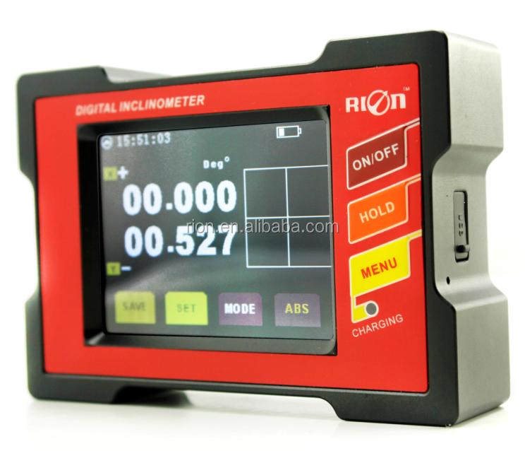 Electronic Digital Inclinometer Clinometer Tilt Angle Meter Slope Gauge Level