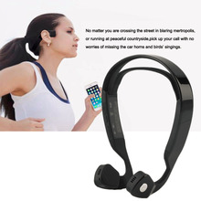 Hot sell wireless headphones, sports Bone conduction headphone earphone mp3 player, stereo headphone