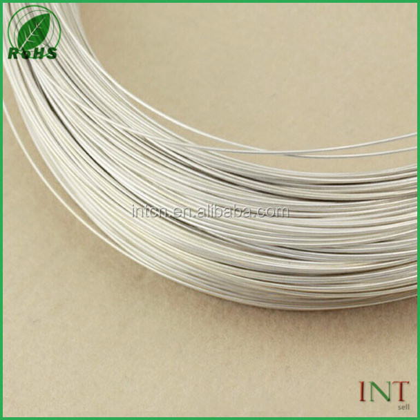 High purity assay test report silver wire 99.99% dia 20
