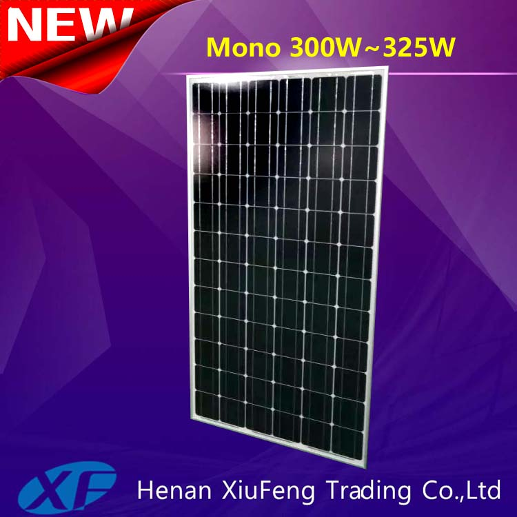 China manufacturer 72pc solar cells for 300w soalr panel with TUV CE certification for Spain