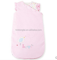 100% cotton baby child sleeping bag for four seasons without sleeve