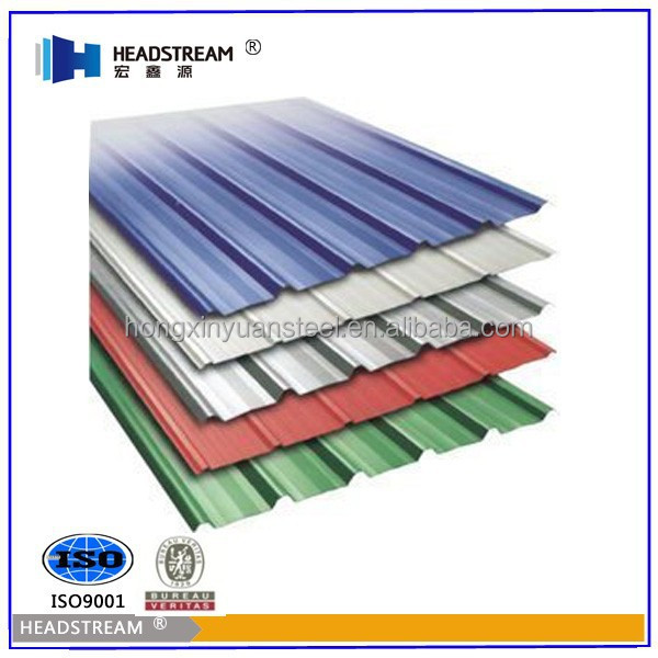 Curved Color Steel Roof,Corrugated Steel Roofing Plate from China Shandong Factory