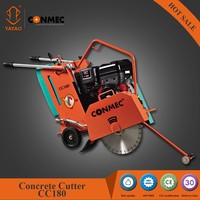 CONMEC hand pushed asphalt core cutting machine CC180 with 17cm cutting depth