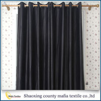 2016 New Arrrival Thermal Insulated polyester non-toxic modern decorative blackout curtain