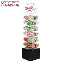 acrylic candy display dispenser case display stand