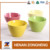 New shape ceramic deep color cereal bowl