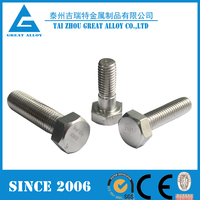 Different sizes of china 2507 bolts and nuts