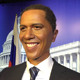 Celebrity Waxwork of World famous American leader Obama