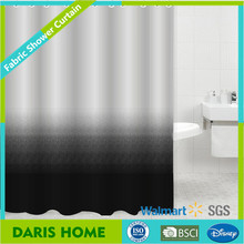 Hot Sale Luxury Color Changing Shower Curtain 100% Cotton