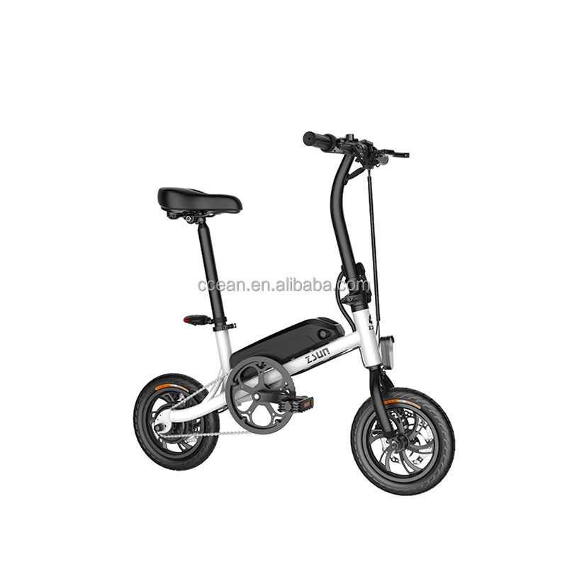 Luxury <strong>Folding</strong> Electric Bike with padel 350W Li-battery waterproof LCD display e-bike for adult
