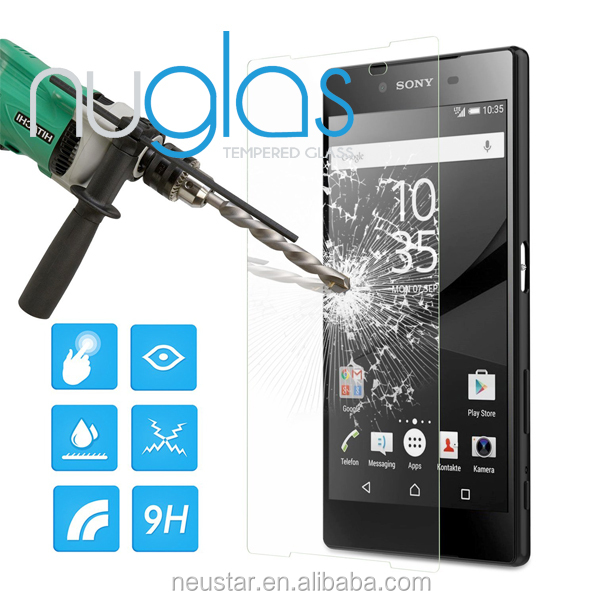Newest Z5 accessories , Asahi gLass Nanometer Anti-Explosion Tempered Glass Screen Protector For Sony Xperia Z5
