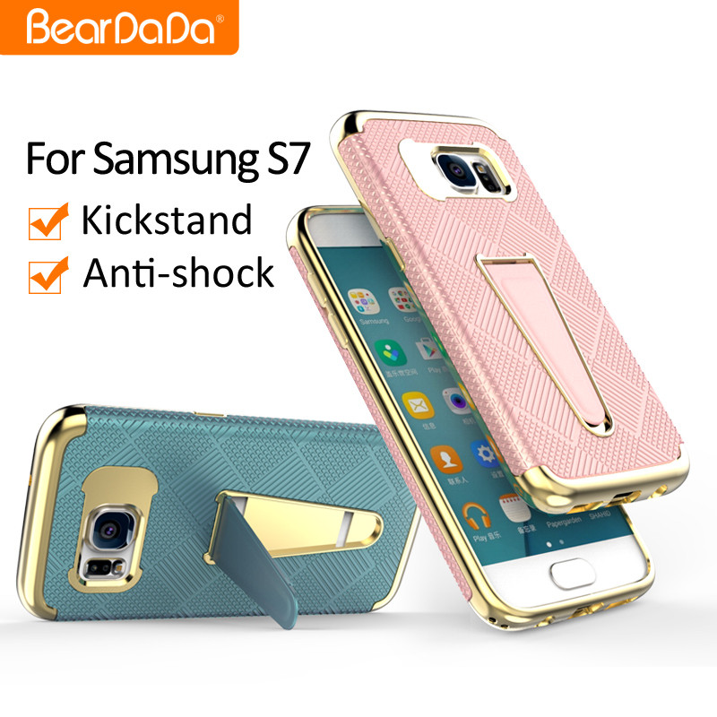 Heavy Duty Shockproof telephone mobile covers for Galaxy S7