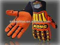 NEW IRONCLAD KONG SDX ORIGINAL Impact Protection Gloves - Orange Hi Vis Palm Gloves mechanical glove mechanic glove