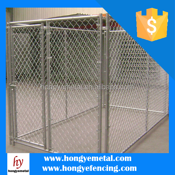 Large Heavy Duty Galvanized Dog Kennel House Cages Manufacturer