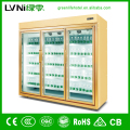 hot sale upright display freezer/soft drink refrigerator