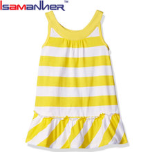Fashion children's apparel garment little girls cotton summer dresses