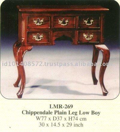 chippendale plaine jambe bas gar on acajou meubles d 39 int rieur tables de chevet id de produit. Black Bedroom Furniture Sets. Home Design Ideas