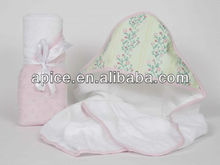 100 cotton hooded bath towel for children