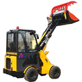 1000kg log grabber loader with log trailer