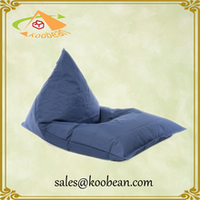 large triangle bean bag dorm room furniture